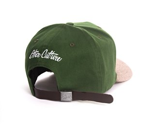 OTHER CULTURE BONE ABA CURVA - HAPPINESS GREEN - comprar online