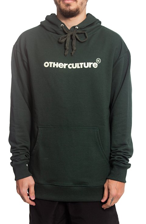 Other Culture Moletom Canguru - Hoodie Brand Green