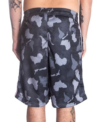 Other Culture Shorts - Logo  Camo Black na internet