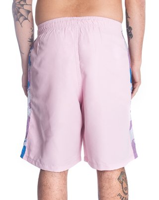 Other Culture Shorts - Logo Stripe Camo Pink na internet