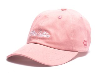 Other Culture bone aba curva rosa Dad Hat - Basic Signature Pink