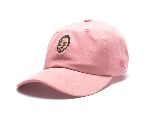 Other Culture bone aba curva rosa Dad Hat - Malone Pink
