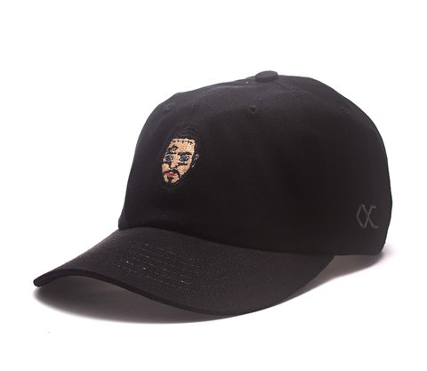 Other Culture bone aba curva preto Dad Hat - Malone Black