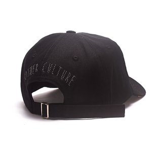 Other Culture bone aba curva preto Dad Hat - Malone Black - comprar online