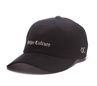 Other Culture bone aba curva preto Dad Hat - Gotic Black