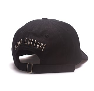Other Culture bone aba curva preto Dad Hat - Gotic Black - comprar online