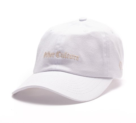 Other Culture bone aba curva branco Dad Hat - Gotic White