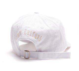Other Culture bone aba curva branco Dad Hat - Gotic White - comprar online