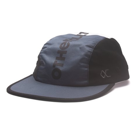 Other Culture bone vermelho azul Five Panel - Dark Cut Black Grey