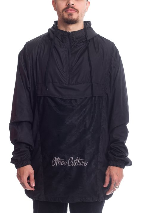 Other Culture Corta Vento - Anorak Black
