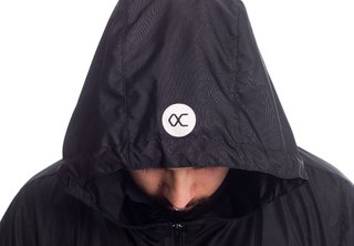 Other Culture Corta Vento - Anorak Black - Other Culture