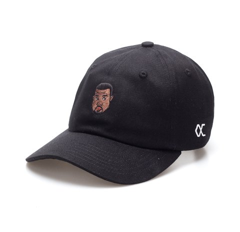 Other Culture bone aba curva preto Dad Hat - Kanye Black