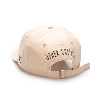 Other Culture bone aba curva preto Dad Hat - Uzi Off white - comprar online