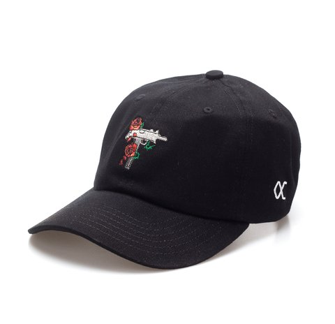 Other Culture bone aba curva preto Dad Hat - Uzi Black