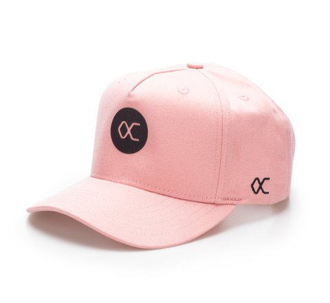 Other Culture bone aba curva - Logo Pink