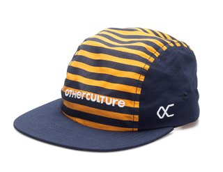 Other Culture bone Five Panel - Striped Yellow