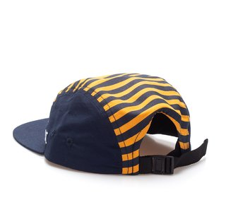 Other Culture bone Five Panel - Striped Yellow - comprar online