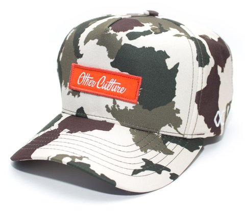 Other Culture bone aba curva - SIGNATURE CAMO CLEAR