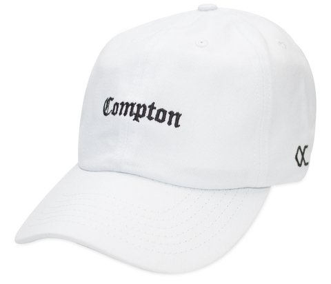 Other Culture bone Dad Hat - Compton Mini White