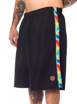 Other Culture Shorts - Heat Map Black