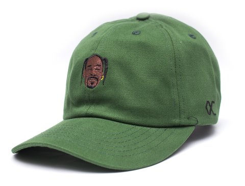 Other Culture bone Dad Hat - Snoop Green