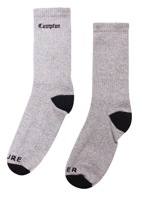 OTHER CULTURE MEIA - OC COMPTON SOCK GREY