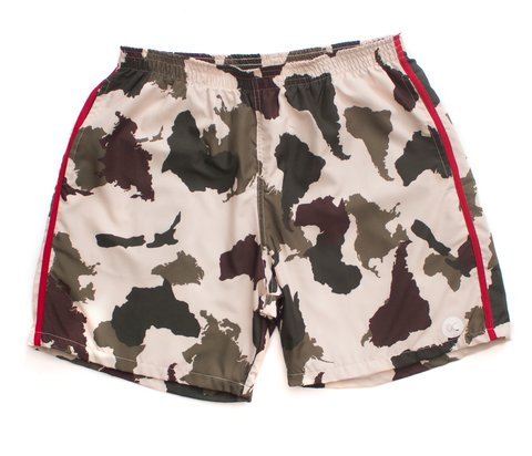 OTHER CULTURE SHORTS - SUMMER CAMO