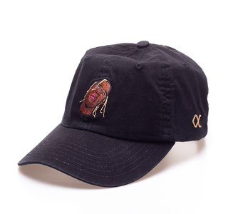 Other Culture bone aba curva preto Dad Hat - Travis black