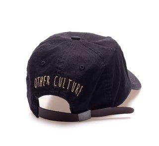 Other Culture bone aba curva preto Dad Hat - Travis black - comprar online