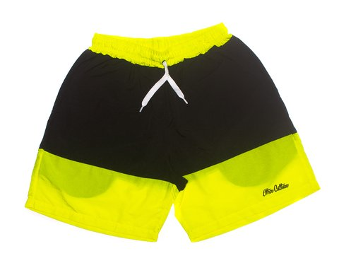 Other Culture Shorts - Double Signature Green Black