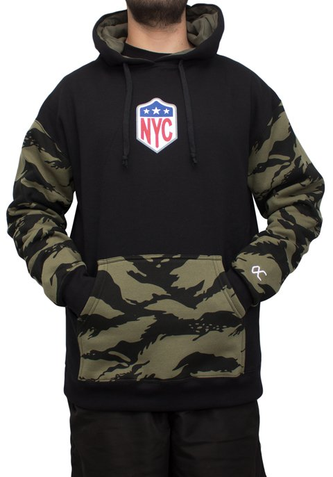 Other Culture moletom - Hoodie Camo NYC