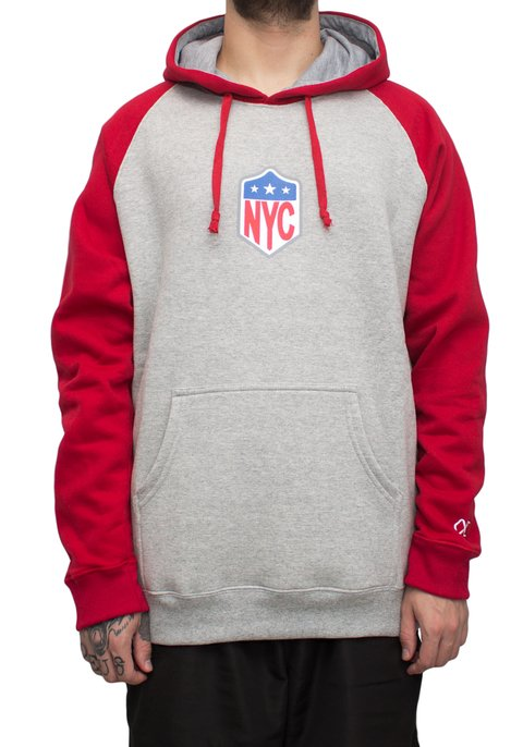 Other Culture moletom - Hoodie Red NYC