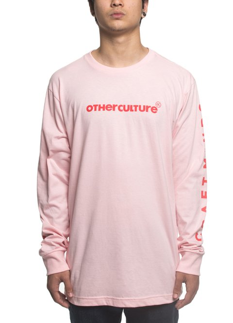 Other Culture Camiseta manga longa - Craft Minds Pink