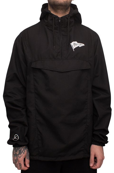 Other Culture Corta Vento - OC Anorak Black