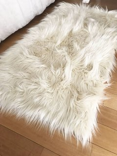 Alfombritas costado de cama color natural - comprar online