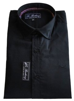 CAMISA LA BORDEVOY - TOTAL BLACK -
