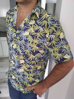 CAMISA LA BORDEVOY, PALMS - LA BORDEVOY