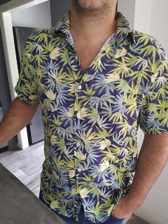 CAMISA LA BORDEVOY, PALMS