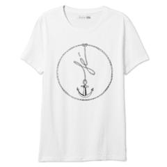 Camiseta Mary Lemon Estampada Fé Âncora - Flávio Wetten