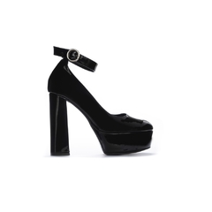 Stiletto Pulse Charol Negro