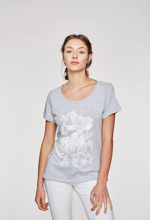 REMERA DARK FLOWER - comprar online