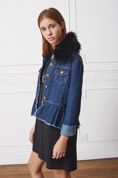 CAMPERA DENIM  LOUIS