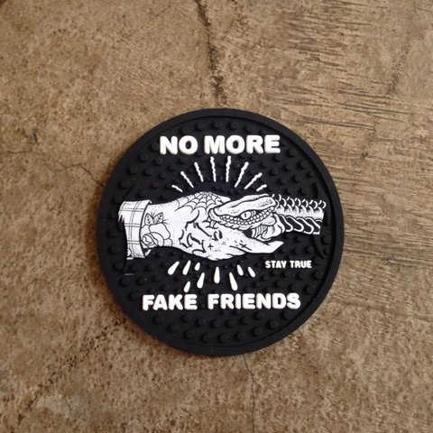 Porta Copos - No More Fake Friends