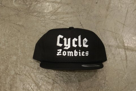 Cycle Zombies - BLITZKRIEG CLASSIC POPPLIN SNAPBACK HAT Preto