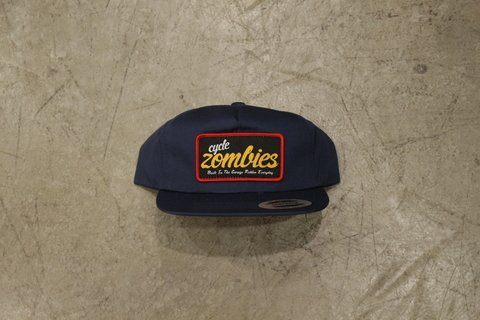 Cycle Zombies - EVERYDAY PREMIUM PATCH HAT Azul