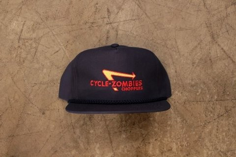 Cycle Zombies - IN-N-OUT PREMIUM TRUCKER ROPE HAT