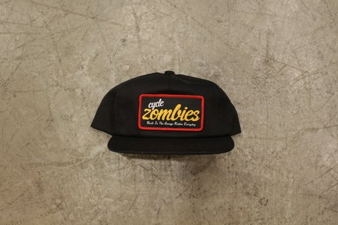 Cycle Zombies - EVERYDAY PREMIUM PATCH HAT Preto