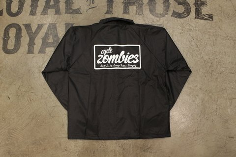 CYcle Zombies - Windbreaker Coaches Preto