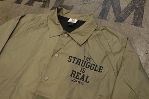 Stay True - Windbreaker The Struggle is Real