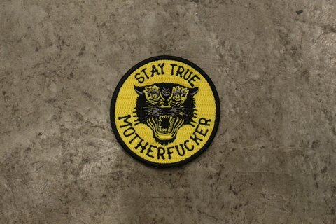 Patch Stay True - Motherfucker 8cm